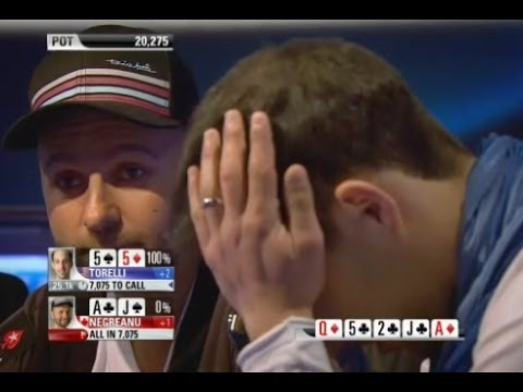 Great Poker Hand Daniel Negreanu vs Alec Torelli