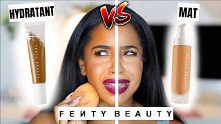 FENTY À ENCORE FRAPPÉ ?! FENTY VS FENTY ! Je compare le nouveau et l'ancien FOND DE TEINT..