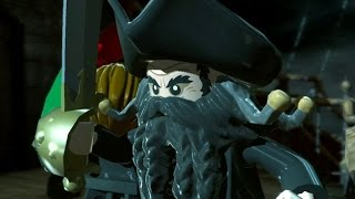 LEGO Pirates of the Caribbean Walkthrough Part 17 - Queen Anne