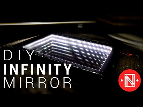 Make a Beautiful LED Infinity Mirror!