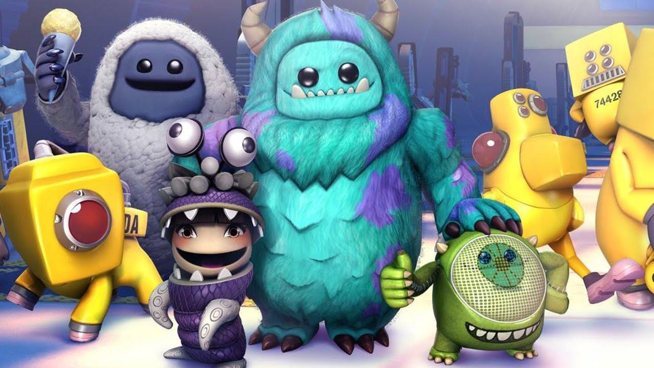 LittleBigPlanet 3 - Monsters Inc Costume Pack Showcase - LBP3 DLC PS4 |  EpicLBPTime