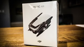 DJI MAVIC AIR Unboxing!