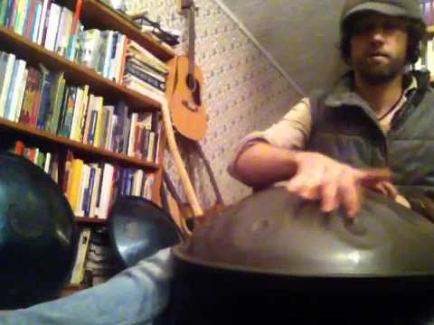 Indoctrination- New Handpan Song Practice-February 2017