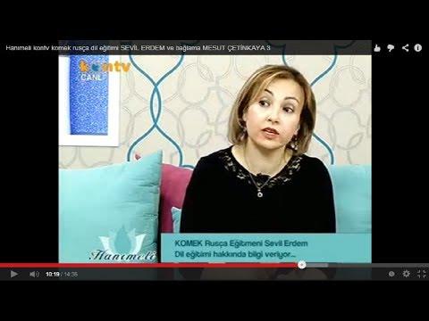 Hanımeli kontv komek rusça dil eğitimi SEVİL ERDEM ve bağlama MESUT ÇETİNKAYA 3