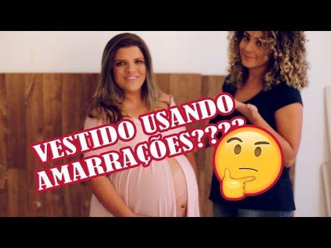 Olha o passarinho: VESTIDO DE GESTANTE COM AMARRAÇÕES? Saiba como fazer. from YouTube · Duration:  6 minutes 49 seconds