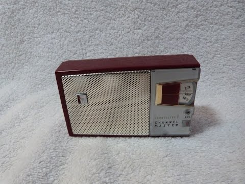 1958 Channel Master model 6501 transistor radio (made in Japan)