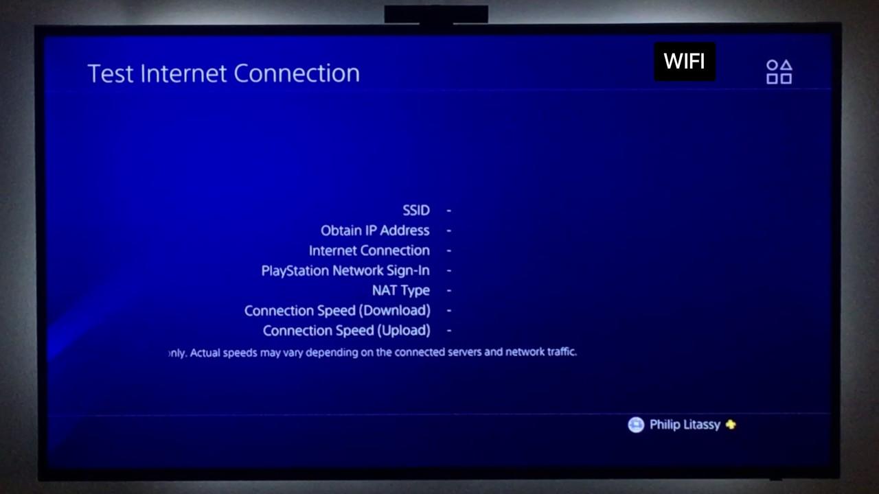 PS4 Pro Internet Speed Test (1Gbit)