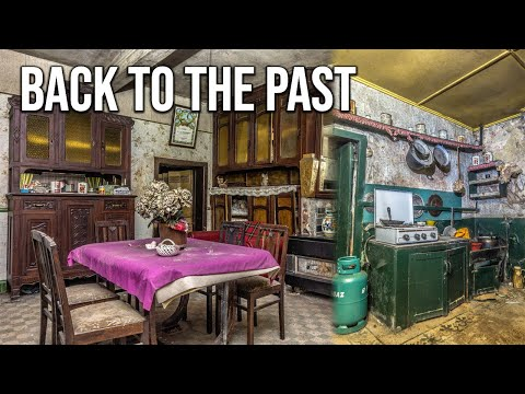 Traditional abandoned 1920s Belgian farmhouse of a religious couple | Back to the past