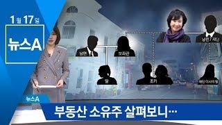 부동산 사들인 손혜원 의원 주변인…어떤 관계였나 | 뉴스A thumbnail