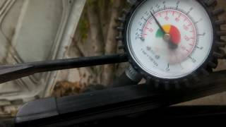 Замер давления в топливной рампе Таврия