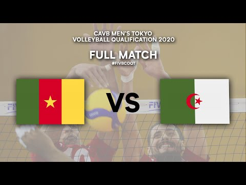 Download CMR vs. ALG - Full Match | CAVB Men's Tokyo Volleyball Qualification 2020