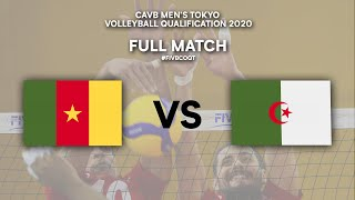 CMR vs. ALG - Full Match | CAVB Men's Tokyo Volleyball Qualification 2020