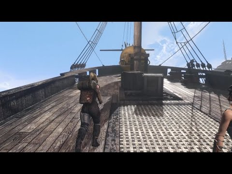 Fallout 4 - What happens when you go aboard the USS Constitution during it's launch