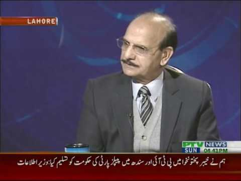Pakistan This Week with Mansoor Azam Qazi @ PTV News  (Dec 2013)