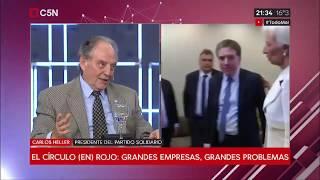 19-03-2019 - Carlos Heller en C5N - M1, con Sylvestre - Argentina necesita un cambio de modelo