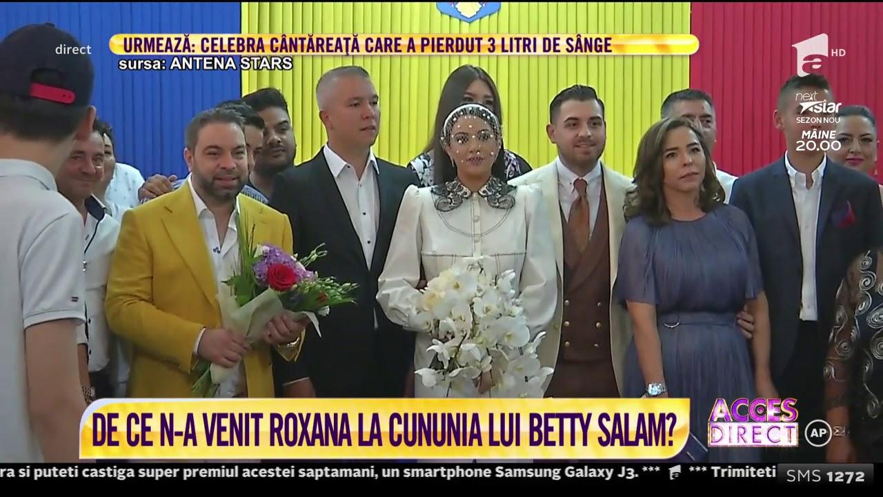 Fiica lui Florin Salam s-a căsătorit! Imagini cu graviduța Betty și soțul Cătălin