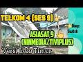 Asiasat 9 Ku Band+ Telkom 4 C Band Dalam 1 Parabola || Tutorial Pakai Diseqc Switch Bagi Pemula