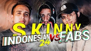 SkinnyIndonesian24 vs SkinnyFabs | Piala Dunia 2018