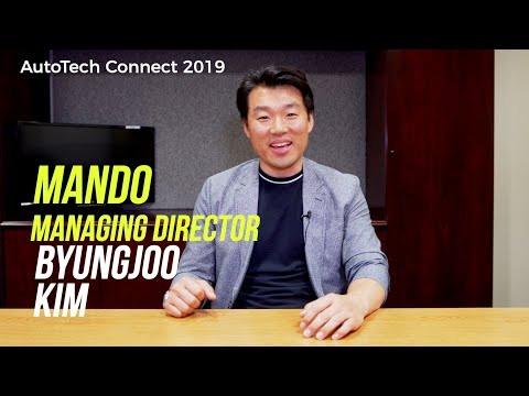 Meet Our Speakers - Byungjoo Kim (Mando) #autotechconnect2019