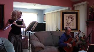 Pachelbel Canon Flute and Guitar Duet by Sotto Voce