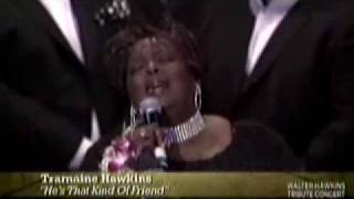 "Tramaine Hawkins performs ""He"