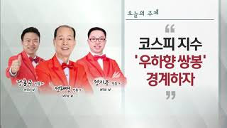 [이브닝 투자쇼 고수] 코스피 지수 '우하향 쌍봉' 경…