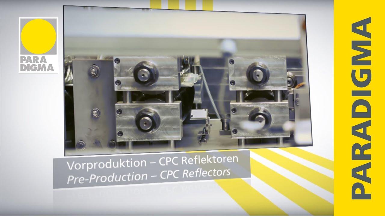 Herstellung Von Cpc Vakuum Rohrenkollektoren Youtube