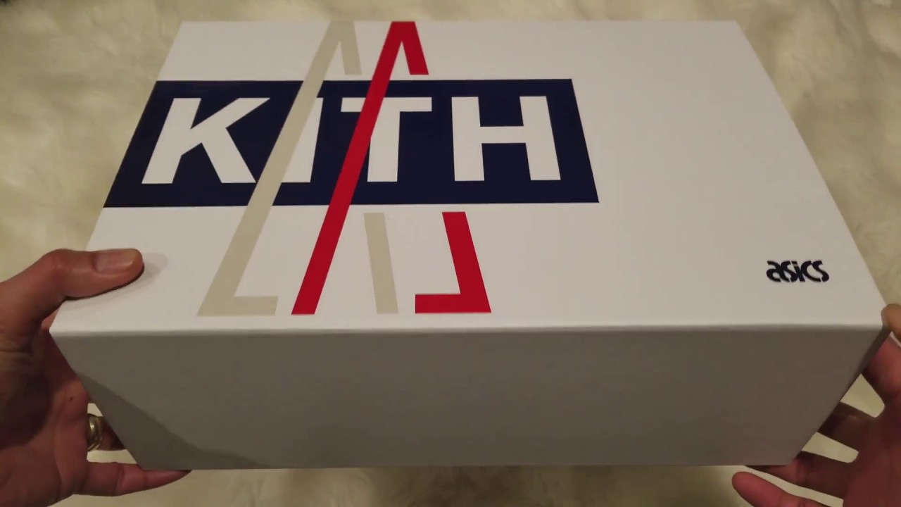 brand new 5ffa2 4700c Unboxing Latest Moncler x Kith x ASICS GEL-Lyte III Shoes Kicks Sneakers!  12 25 2017