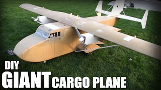 DIY Giant Cargo Plane | Flite Test