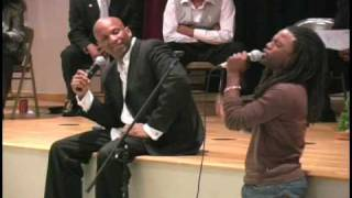 Donnie McClurkin and Dathan Thigpen sing I