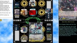 (Cardfight Vanguard) Ultra Beast Deity Illuminal Dragon vs Amber Dragon Eclipse
