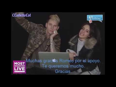 Machine Gun Kelly Camila Cabello MRL AskAnythingChat w/ Romeo   SUBTITULADO ESPAÑOL