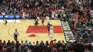 United Center Reaction to Jimmy Butler