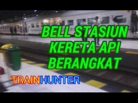 Bell Sirine Stasiun Kereta Api Berangkat