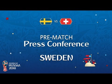 2018 FIFA World Cup Russia™ - SWE vs SUI : Sweden  Pre-Match Press Conference