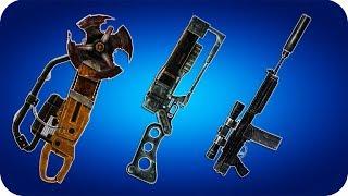 Fallout 3 - Уникальное оружие Мучитель Плавильщик Дырокол