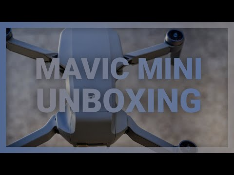 DJI Mavic Mini Fly More unboxing and first look - dronenr