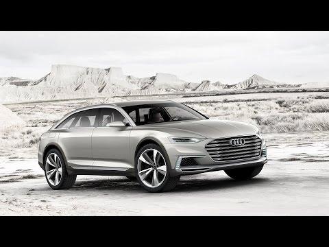 2015 Audi Prologue allroad Concept 734 HP Interior and Exterior