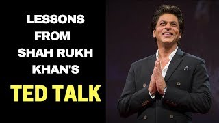 MOTIVATION FROM SHAH RUKH KHAN'S TED TALK (HINDI) | MOTIVATIONAL VIDEO IN HINDI