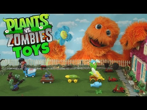 Plants vs. Zombies 2 - TOYS !
