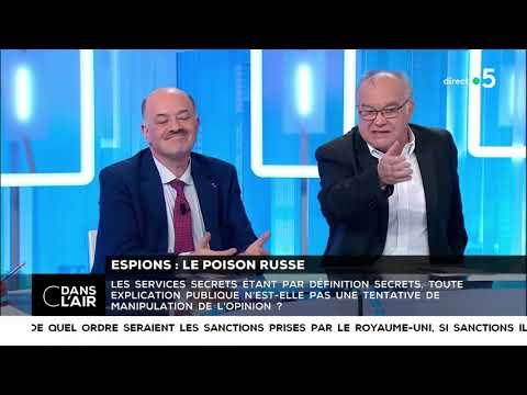 Espions : le poison russe - Les questions SMS #cdanslair 13.03.2018