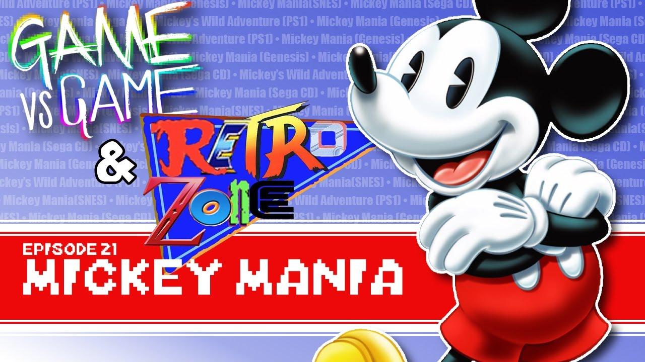 Mickey Mania - Genesis, SNES, Sega CD, PS1 - Game vs Game feat  Retro Zone