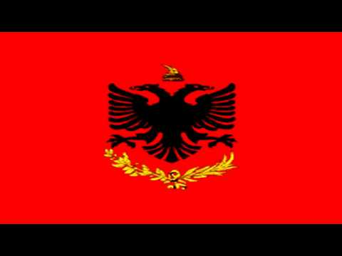 Bandera de Guerra del Reino de Albania (1934-39) - War Flag of the Kingdom of Albania (1934-39