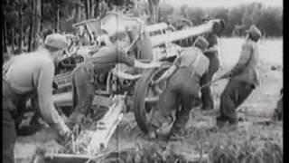 German 105 light-field Howitzer 18