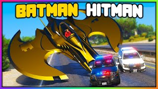 GTA 5 Roleplay - BATMAN JET HITMAN JOBS | RedlineRP