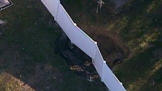 Florida Sinkhole: 2nd Sinkhole Opens Near Site of 100-Foot Deep Hole