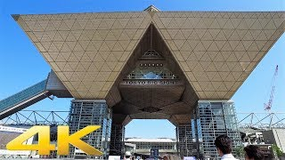 Walking around Tokyo Big Sight, Tokyo - Long Take【東京・東京ビッグサイト/国際展示場】 4K