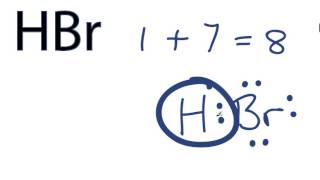 Hbr Lewis Structure How To Draw The Dot Structure For Hbr Youtube