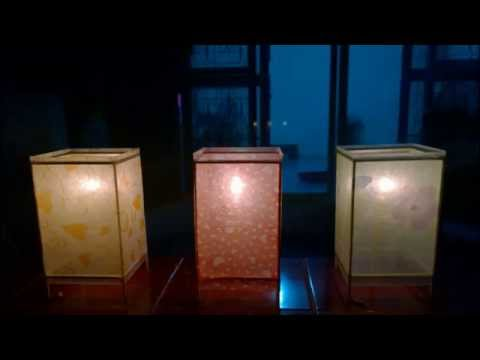 โคมไฟประดิษฐ์ ทำง่ายๆสวยๆด้วยตัวเอง