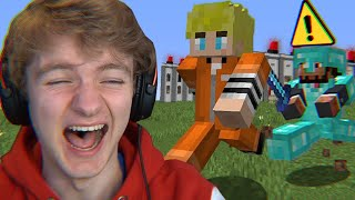 Surviving Minecraft's Funniest Prison...